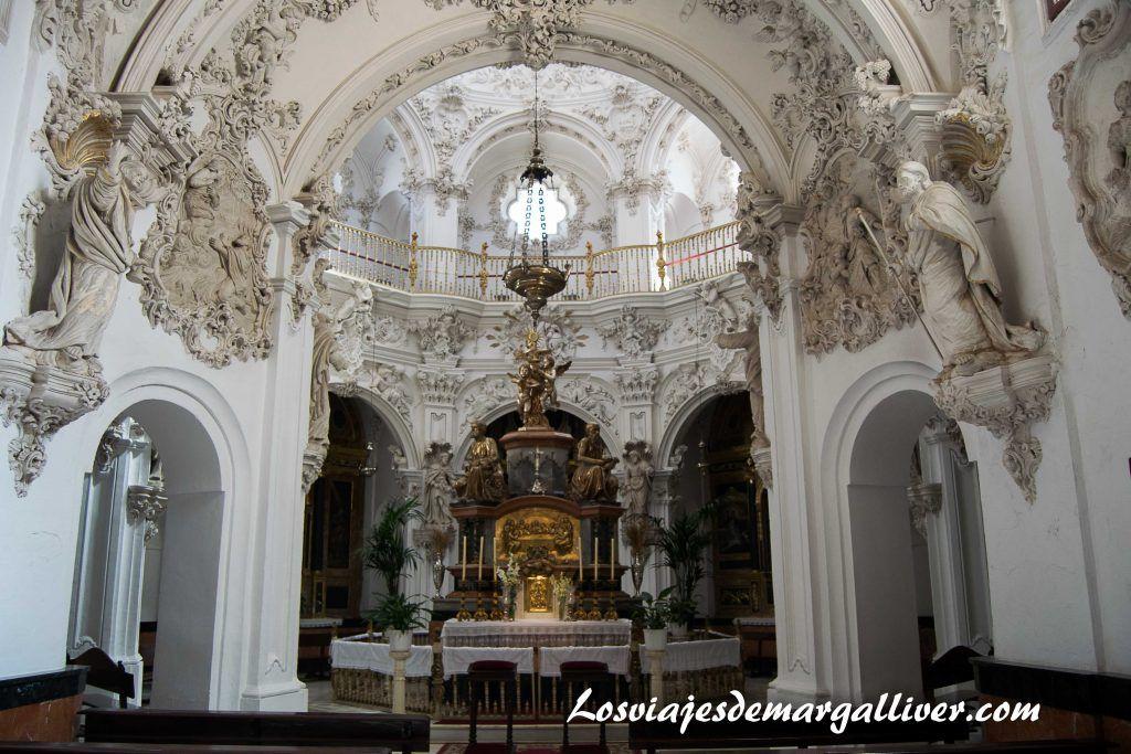 Sagrario de la iglesia de Asunción en Priego de Córdoba - Los viajes de Margalliver